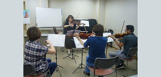 バイオリン グループレッスン